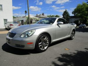 2002 LEXUS SC 430 convertible 2DOOR
